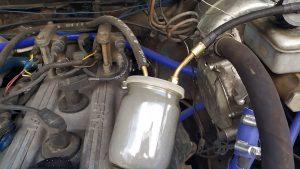 Как легко и быстро найти подсос воздуха в инжекторном двигателе.